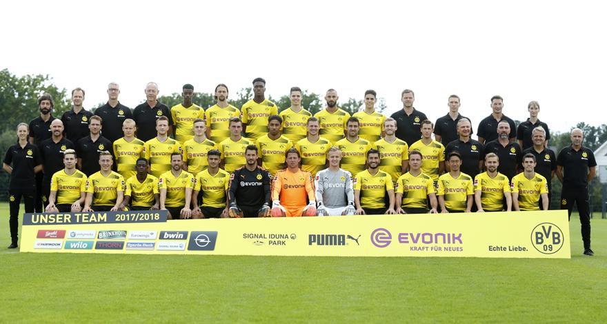 Borussia Dortmund Team 2017/2018